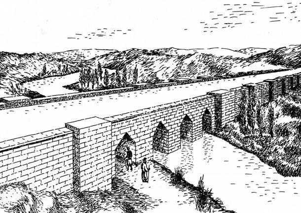 Acueducto de Jerwan en la Antigua Asiria