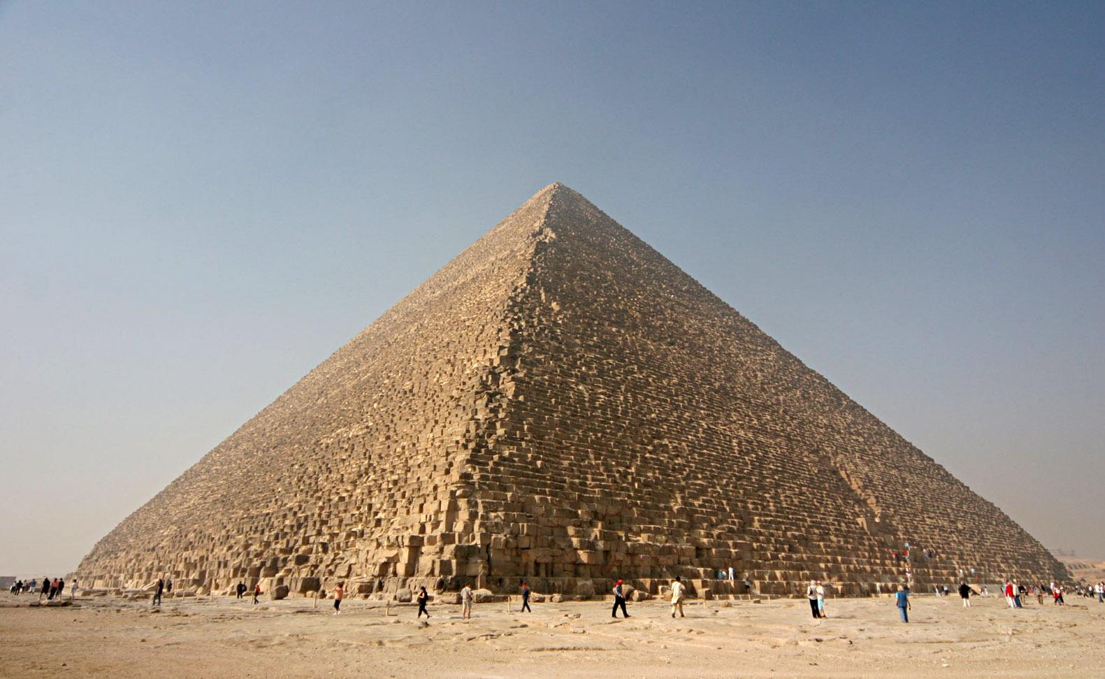 La Gran Pirámide de Guiza