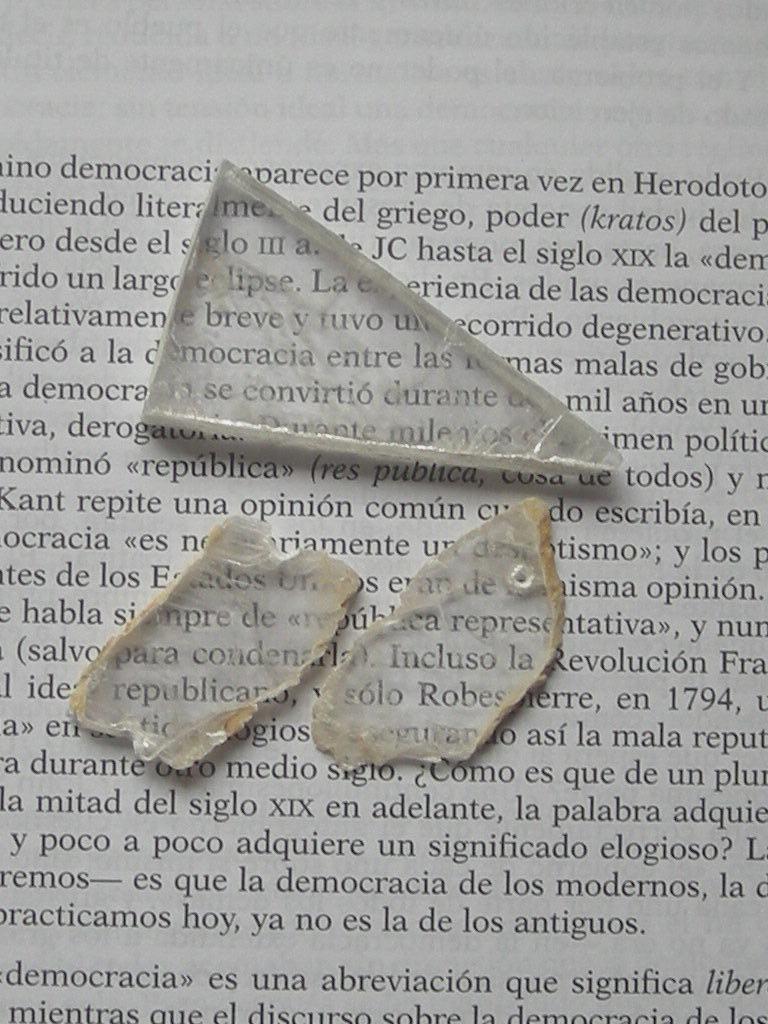 Fragmentos de Lapis Specularis