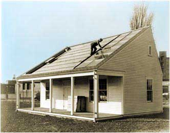 La Casa Solar #1 en el MIT