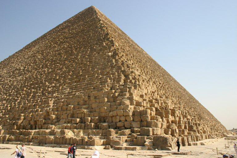 Pirámide de Keops o Gran Pirámide de Guiza