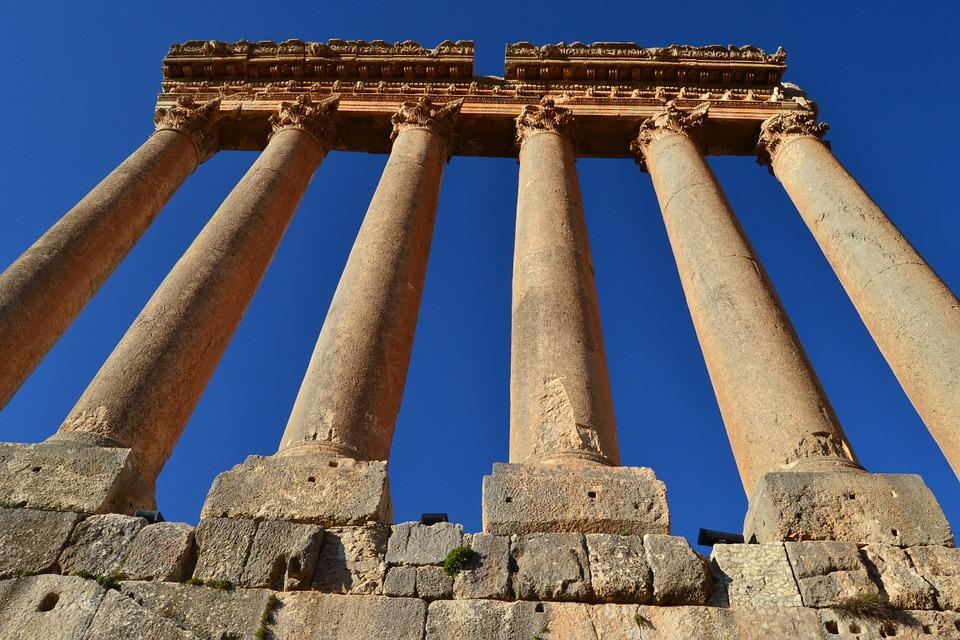 El famoso trilito del Templo de Júpiter en Baalbek