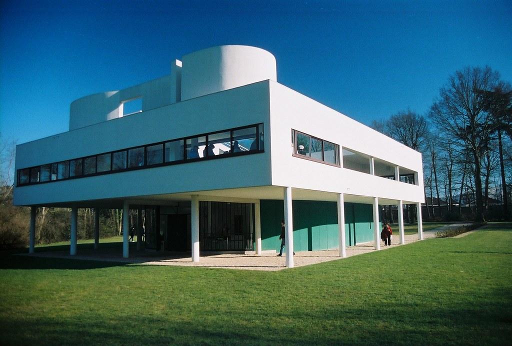 La Villa Savoye de Le Corbusier